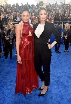 Lynda Carter and Gal Gadot Embrace at 'Wonder Woman' Red Carpet – See the Pics!