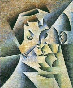 Juan Gris, portrait of the mother of the artist on ArtStack #juan-gris #art