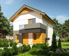 Case cu mansarda sub euro, pret la cheie - Case practice Free Floor Plans, Free House Plans, One Story Homes, House Blueprints, Design Case, Home Fashion, Stairways, Home Office, Beautiful Homes