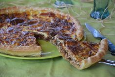 quiche courgette tom