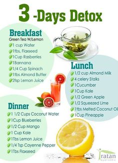 3 Days Detoxification!
