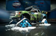 Кен Блок с нова зимна оф-роуд играчка: Ford F-150 RaptorTRAX