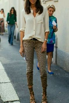 Vogue Paris street style... In love with these pants!!