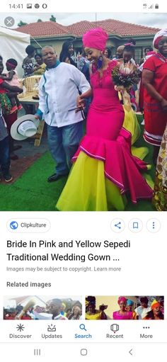 Traditional African Clothing, African Traditional Wedding, Traditional Wedding Dresses, Tsonga Traditional Dresses, Pedi Traditional Attire, African Wedding Attire, African Wear Dresses, Dress Ideas, Outfit Ideas