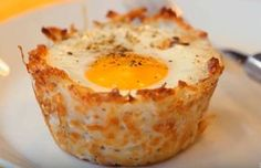 Denver Omelette Cups – Perfect for Breakfast Egg Recipes For Breakfast, Healthy Dinner Recipes, Cooking Recipes, Tapas, Vol Au Vent, Omelette Muffins, Grand Bol, Love Food, Food Porn