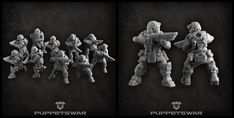 New unit is ready to fight: https://puppetswar.eu/product.php?id_product=773
