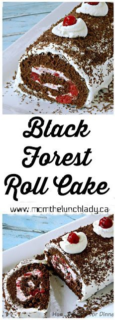 No Bake Desserts, Just Desserts, Delicious Desserts, Dessert Recipes, Swiss Roll Cakes, Jelly Roll Cakes, Jelly Rolls, Cake Roll Recipes, Bolo Cake