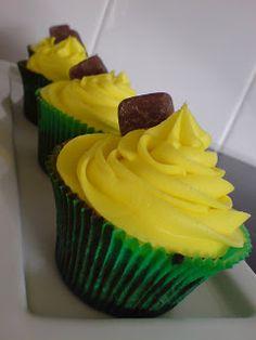Starry Moon Cupcakes: Pineapple Lump Cupcakes