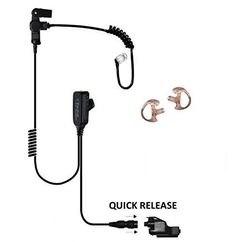 Tactical Ear Gadgets™ Cougar Earpiece for Kenwood Multi-Pin NX200 NX300 TK5210