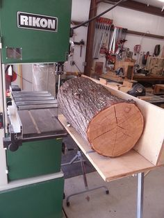 Woodworking Patterns ReSaw Sled for Bandsaw -