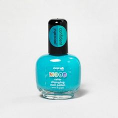 Peaceful/Confident Ocean-Blue Color-Changing Mood Polish