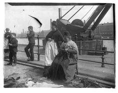 Newcastle Docks in the 1880's