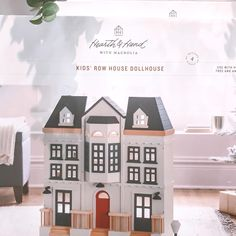 "Target_Now|Sandy on Instagram: ""Is this not the cutest doll house you've ever seen? This Row House Doll House from Hearth & Hand is the real thing, reminds me of something…"""