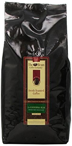 The Bean Coffee Company, California Blend Whole Bean Coffee, Decaffeinated, 5-Pound Bags * Check out this great product.