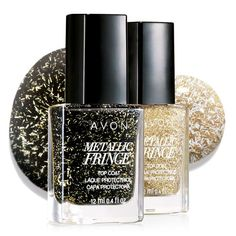 Wear alone or over polish. .4 fl. oz.