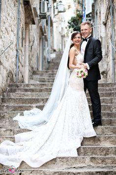 Gorgeous #BERTA bride Jelena from Bosnia ♥