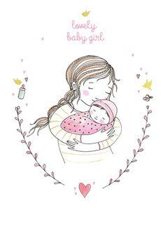 Marieke ten Berge new baby girl