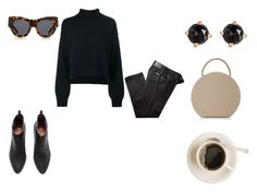 """Autumn2017"" by czirokpanna on Polyvore featuring Rejina Pyo, BRAX, Irene Neuwirth, BUwood and Karen Walker"