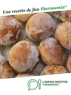 Beignets Au Four Thermomix, Churros, Dessert Thermomix, Baked Donuts, Italian Desserts, Flan, Croissant, Summer Recipes, Parfait