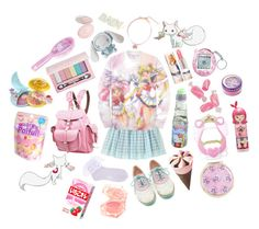 """magical girl diet: sugar"" by nicholael ❤ liked on Polyvore"
