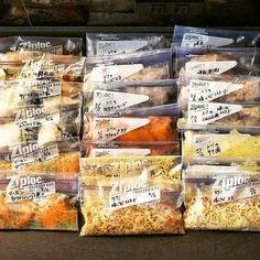 知っている人はやっている♡お肉&お魚を美味しくする「下味冷凍」レシピ10連発 - LOCARI(ロカリ) Cafe Food, Food Menu, Easy Cooking, Cooking Recipes, Japanese Food Sushi, Mouth Watering Food, Frozen Meals, Frugal Meals, Food Design