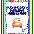 FREEBIE! These versatile reading responses can be used for many nonfiction selections! They are appropriate for 2nd through 5th grade. Consider using the re...