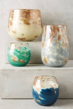 Celestial Shimmer Glass Candle - anthropologie.com