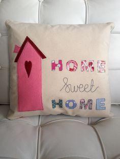 Home Sweet Home - Handmade Cushion £20.00