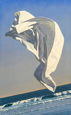 For Sale on - Thrown Drapery (Redux) Study One, Canvas, Oil Paint by David Ligare. Offered by Hirschl & Adler. Magritte, Drapery Drawing, A Level Art, Painting Still Life, Oil Painting Reproductions, Oil Painting On Canvas, Sculpture Art, Illinois, Framed Art