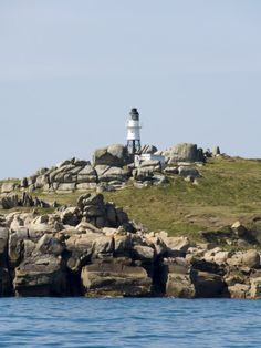 Lighthouse, St Mary's, Isles of Scilly, Off Cornwall, United Kingdom