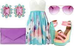 Sweet Springtime, created by lauraladee on Polyvore