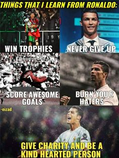 """Ronaldo the best "" Messi Vs, Messi Soccer, Soccer Memes, Soccer Quotes, Football Memes, Lionel Messi, Soccer Tips, Nike Soccer, Soccer Cleats"