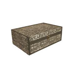 WaldImports Metal / Wood Box