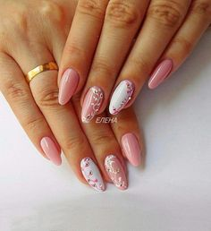 Semi-permanent varnish, false nails, patches: which manicure to choose? - My Nails Spring Nail Art, Spring Nails, Summer Nails, Perfect Nails, Gorgeous Nails, Acrylic Nail Designs, Nail Art Designs, Cute Nails, Pretty Nails