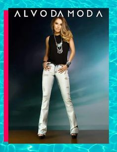 Look perfeito para iniciar a semana! Confira muito mais em www.alvodamoda.com.br   #Alvolovers #Summercollection #Denimstyle #High #Model #eshop #Welove #Sunset #Instalove #Instamood #Jeans