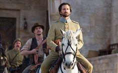 Josh Hartnett as Jude Gresham in a bespoke grey felt Fedora in The Ottoman Lieutenant Josh Hartnett, Ben Kingsley, Star Crossed, Movie Trailers, Movies Showing, Ottoman, Tv, Historical Romance, Betrayal