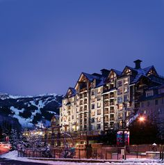 Whistler Blackcomb was 2016's No. 1 ski resort in the West. Want to know where to stay when there? Try one of these places.
