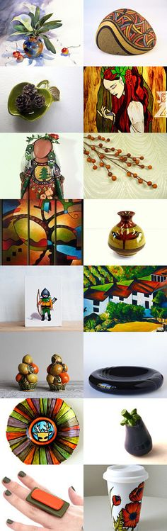 Celebrate Autumn by DivineOrders on Etsy--Pinned with TreasuryPin.com