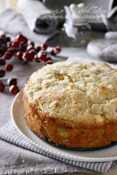 Torta di mele irlandese Bolo Cake, Torte Cake, Sweets Recipes, Cake Recipes, Cake Cookies, Cupcake Cakes, Italian Desserts, Pie Dessert, Coffee Cake