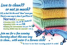 I would love to share the Norwex Mission with you!  http://amandaweber.norwex.biz/