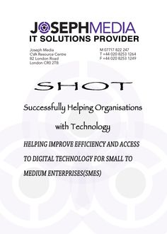 SHOT,is a program that works for helping organisations and enterprises get access confidently with digital technology,enhance their IT skills and fulfill their career prospects with a strong sense of worth and reliability. Free Web Page, Got Online, Croydon, Confidence Building, Bright Future, Digital Technology, Online Business, How To Get, Community