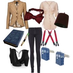 11th Doctor female outfit - this is SO exactly!!!
