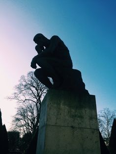 Le penseur - Musée Rodin Paris (O pensador)
