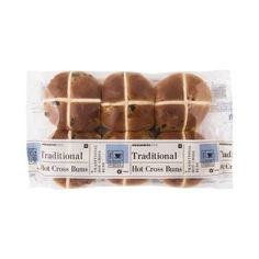 Traditional Hot Cross Buns 6Pk Hot Cross Buns, Easter, Traditional, Food, Projects To Try, Easter Activities, Essen, Meals, Yemek