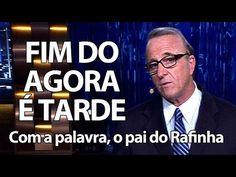 Pai de Rafinha Bastos mostra que o humor está nas veias |
