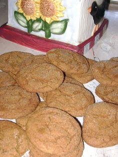 Thyme Square Gardens: Ginger Snap Cookies
