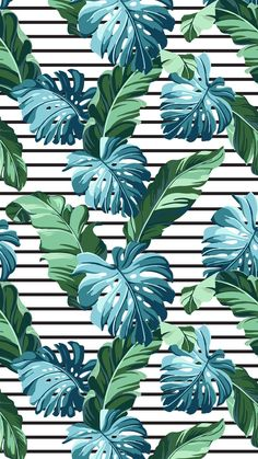 Ideas for wallpaper iphone pattern design pretty floral prints Plant Wallpaper, Flower Wallpaper, Screen Wallpaper, Cool Wallpaper, Pattern Wallpaper, Striped Wallpaper, Wallpapers Tumblr, Tumblr Wallpaper, Cute Wallpapers