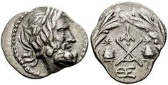 Greek (450 Bc-100 Ad) antigua Griega Inventive 336-323 Bc Alexander Iii Ar Dracma Ngc Xf Coins: Ancient