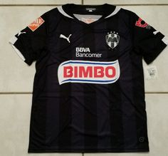 9004485a872 NWT PUMA Monterrey Los Rayados Mexico Away Soccer Jersey Men s Large in  Sports Mem