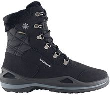 LOWA Carinzia GTX. These high shaft snow boots utilize LOWA's exclusive Monowrap® technology which wraps the foot in a lightweight, comfortable, and supportive frame.
